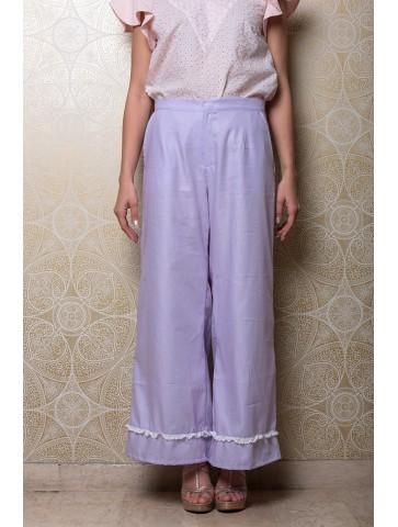 Pantalone lungo in cotone